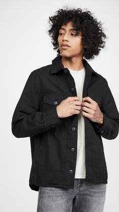 It's once again time to revamp your spring wardrobe. East Dane launches its 2020 Spring Event with up to off a selection of full-priced items. Fall Wardrobe, Wardrobe Staples, Banded Collar Shirts, The Fashionisto, Smart Styles, Shirt Jacket, Work Wear, What To Wear, Menswear