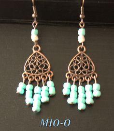 Ohrringe -   Ohrringe Ethno - ein Designerstück von MIO-O bei DaWanda