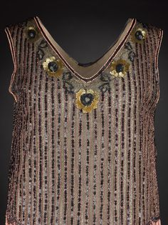 Evening dress, 1927 From National Museums Scotland