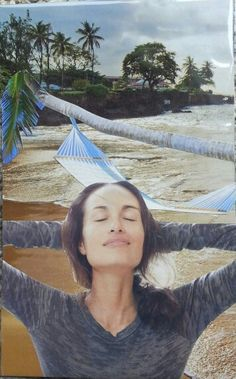 """Relax"" Soul collage by Lacey Boles"