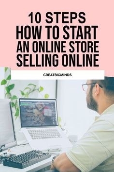 Selling Online and How To Start Your Shopify and Ecommerce Store easily with 10 simple step by step tutorial. This how to sell online tips will get you started easily from the ground up. #shopify #ecommerce #shopifytips #shopifystore #shopifywebsite Storing Clothes, Ecommerce Store, Boutique Stores, Online Clothing Stores, Selling Online, Things To Sell, Simple, Tips, Clothing Boutiques