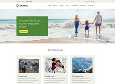 Tour and Travel Agency - Responsive Website Template