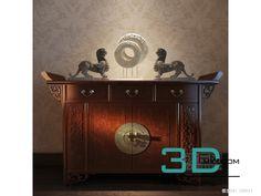 nice 68. Sideboard & chest of drawer 3D model Download here: http://3dmili.com/uncategorized/68-sideboard-chest-drawer-3d-model.html
