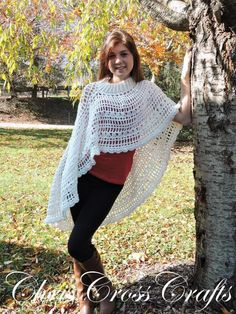 Fall Romance Turtleneck Poncho | Craftsy