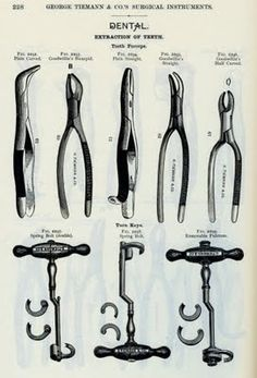 Vintage dentistry Tools - 15 Pics | Curious, Funny Photos / Pictures