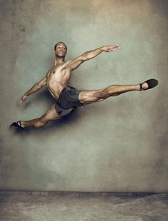 ballet men are so freakin strong.  FOR SURE ....in many ways!