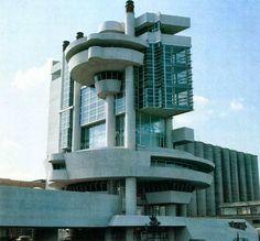 Casa del portuale, Napoli, 1968/1980. Arch. Aldo Loris Rossi.