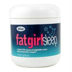 Bliss FatGirlSleep 6 oz: http://www.amazon.com/Bliss-FatGirlSleep-6-oz/dp/B0018AEA5M/?tag=cheap136203-20