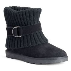 SONOMA life + style® Women's Cuffed Sweater Ankle Boots