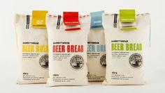 BarrettsRidge Beer Bread #packaging #inspiración #inspiration #creatividad #creativity #creativo #creative #marca #brand #branding #diseño #design #gráfico #graphic #tarjeta #cerveza #beer #pan #bread