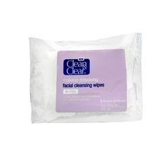 Clean & Clear Facial Cleansing Wipes