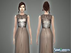 86ca1f761d5da The Sims Resource: Laura - gown by April • Sims 4 Downloads Gowns, Sims