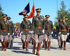 Corps of Cadets Unit Cop Uniform, Men In Uniform, A&m Football, Football Season, Uniform Ideas, Fox Hunting, All Hero, Texas A&m, Military Police