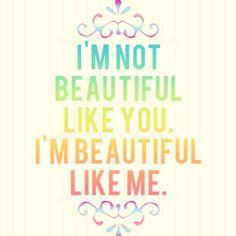 beauty - self worth