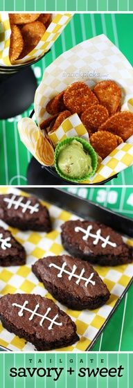 "Sweet + Savory Tailgate Party Appetizers and Snacks"" data-componentType=""MODAL_PIN"