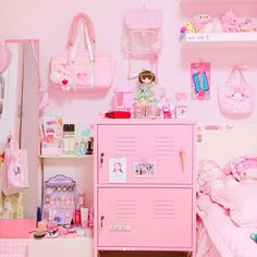 This time we researched pastel room décor ideas for nearly any room of your house. These pastel room décor ideas include from sofas to pillows, linens, and furniture. Cute Room Ideas, Cute Room Decor, Pastel Decor, Pastel Pink, Pastel Colors, Room Ideas Bedroom, Bedroom Decor, Kawaii Bedroom, Decorating Rooms