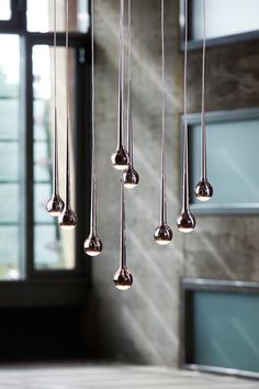 Falling Water Suspended Lights, Tobias Grau.