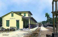 Estacion del tren en Aguadilla