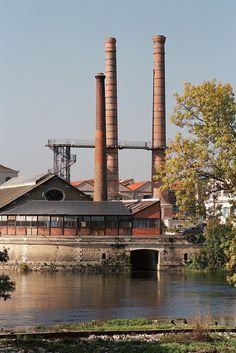 Manufacture d'Armes et Cycles, Châtellerault, Vienne, France ©Sylvie Charles Limousin, Enjoy It, Paris, Monuments, Vienna, Tourism