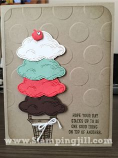 Sprinkles of Life www.stampingjill.com Stampin' Up!