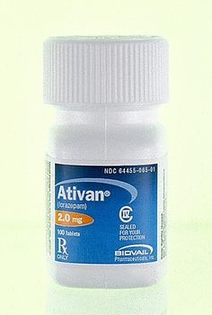 Ativan aka Lorazepam often used as a sedative, also used for short term treatment of anxiety and insomnia.