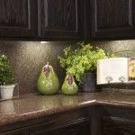 Kitchen Counter Decorative Accessories kitchen cabinets decorations on top |  of kitchens