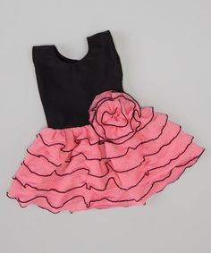 Love this Pink Ruffle Dress for 18'' Doll on #zulily! #zulilyfinds