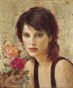 Title unknown -- by Goyo Dominguez (b.1960, Spanish-born British Romantic artist) posted by maria-magnolia2: via Tumblr *