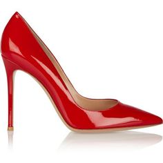 Gianvito Rossi 105 patent-leather pumps