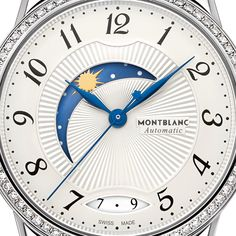 Dial of Automatic Montblanc Women's Watches