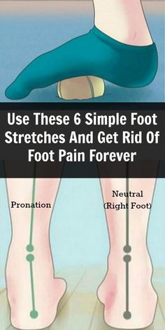 Pain Relief: Use These 6 Simple Foot Stretches And Get Rid Of F...