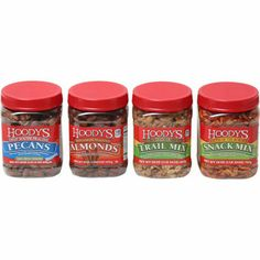 Make your own Nuts favor: Hoody's® Best of Assortment 4-pack
