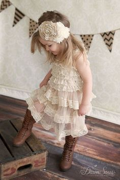 Flower girls are your little bridesmaids, so dress them in super cute way for everyone to sigh with excitement! For a fall affair, choose something ...