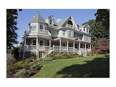 Victorian home in Hingham, MA