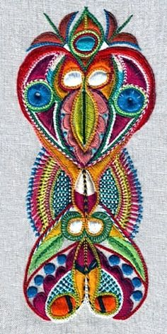 Exquisite embroidery from Brittany broderie glazig