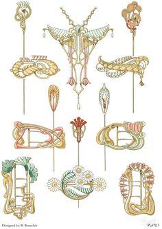 Дизайн украшений Rene Beauclair