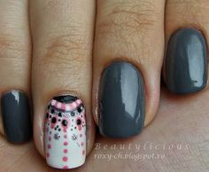 Nail art - flair - Essie bobbing for baubles