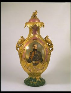 Vase and cover | Charles Meigh & Co. | V Search the Collections