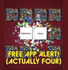 (Four) Featured Free Apps of the Week: by Winning Words- pinned by @PediaStaff – Please Visit ht.ly/63sNtfor all our pediatric therapy pins