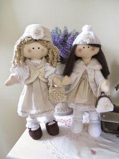 bonecas russas de tecido - feita por Cantinho das Artes - Lauriane