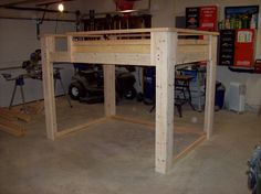 diy bunk bed | STEP SEVEN: Attend the final reveal with your child ...check.