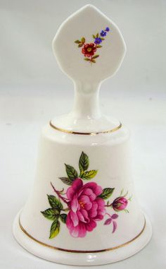 Staffordshire Porcelain Bell.