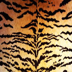 Decor de Paris Fabric: Velluto Tiger