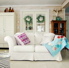 Tarja's Snowland http://tarja-snowland.blogspot.fi Scandinavian living room