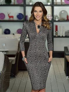 55 Edgy Street Style Ideas To Copy Today - Fashion New Trends Elegant Dresses, Pretty Dresses, Sexy Dresses, Fashion Dresses, Dresses For Work, Formal Dresses, Classy Outfits, Beautiful Outfits, Look Office