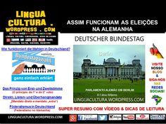 Eleições na Alemanha (Wahlen in Deutschland) LINGUACULTURA: SEU SITE EDUCATIVO Nosso foco é a Aprendizagem de Línguas e o Universo Cultural que o cerca. Aqui compartilhamos conhecimento e bom humor!