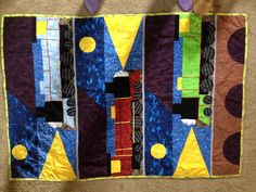 Haidan's Thomas the train quilt I made. Loved it it was fun.
