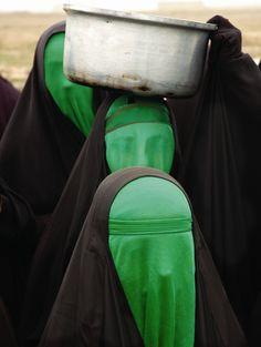 Green Women No. 3 - Babak Kazemi, 2004. Photography - Chromogenic print (C-print), 27.55 x 39.37 cm. (via the absolute PHOTOGRAPHY blog…)