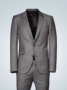Dear Men in General - You should wear suits as often as you are able. All men look better in suits.