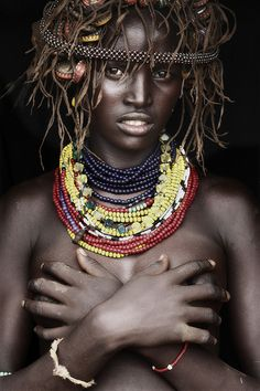 Toudaio - Omo Delta by Mario Gerth (people, portrait, beautiful, photo, Black Is Beautiful, Beautiful People, Beautiful Women, Stunningly Beautiful, African Tribes, African Women, We Are The World, People Around The World, Steeve Mc Curry